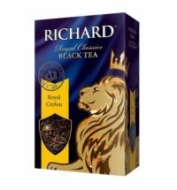 Чай Richard Royal Ceylon черный, листовой, 90г