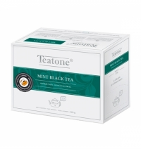 Чай Teatone Mint Black Tea черный, 20 пакетиков на чайник