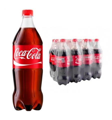 фото: Напиток газированный Coca-Cola 1л x 12шт ПЭТ