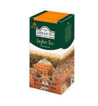 Чай Ahmad Ceylon (Цейлонский) черный, 25 пакетиков