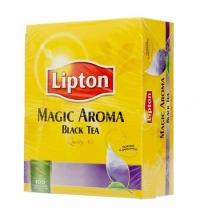Чай Lipton Magic Aroma черный, 100 пакетиков