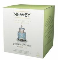 Чай Newby Jasmine Princess (Жасмин принцесс) зеленый, в пирамидках, 15 пакетиков