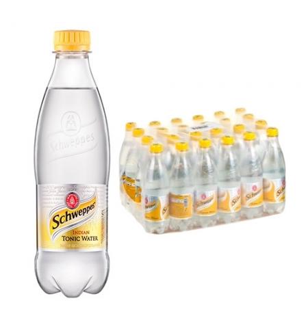 фото: Напиток газированный Schweppes Indian Tonic 500мл x 24шт ПЭТ