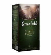 Чай Greenfield Silver Fujian (Силвэ Фуцзянь) черный, 25 пакетиков