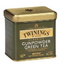 Чай Twinings Gunpowder зеленый, листовой, 100г, ж/б