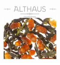 Чай Althaus Genmacha Raisu зеленый, листовой, 100 г