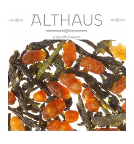 фото: Чай Althaus Genmacha Raisu зеленый, листовой, 100 г