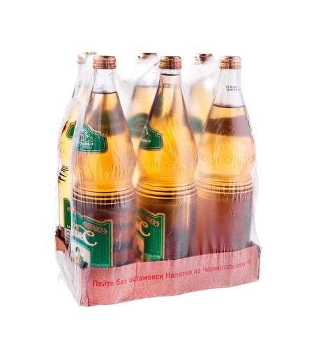 фото: Напиток газированный Черноголовка дюшес стекло, 1л х 6шт