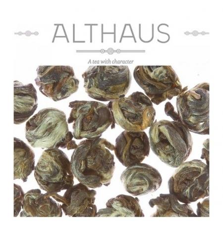 фото: Чай Althaus Jasmine Pearls Bai Yin зеленый, листовой, 100 г