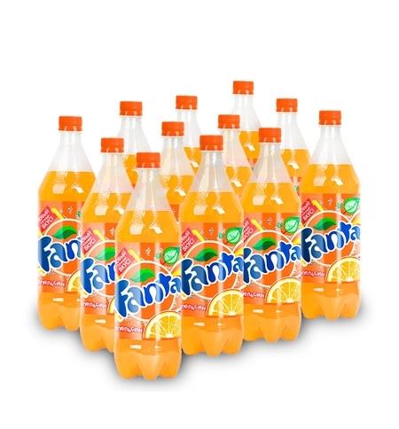 фото: Напиток газированный Fanta 1л x12шт ПЭТ