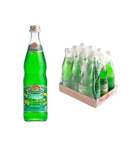 фото: Напиток газированный Черноголовка тархун стекло, 500мл х 12шт
