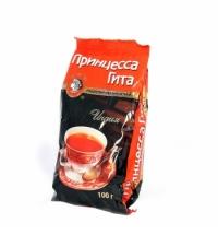 Чай Принцесса Гита Медиум листовой черный, 100г, гранулированный