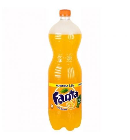 фото: Напиток газированный Fanta апельсин ПЭТ, 1.5л