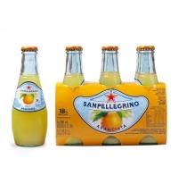 Напиток газированный Sanpellegrino Limonata апельсин 200мл, стекло