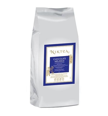 фото: Чай Niktea Chocolate Melange  (Шоколадный Меланж) черный, листовой, 250г