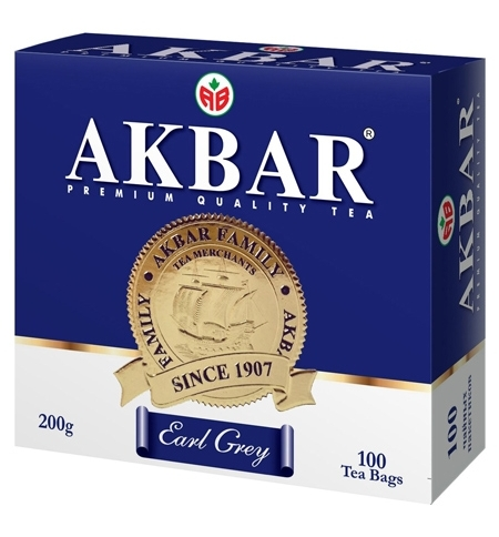 фото: Чай Earl Grey черный, 100 пакетиков