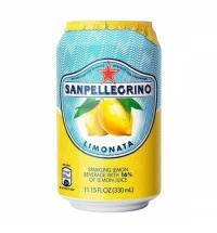 Напиток газированный Sanpellegrino лимон 330мл, ж/б