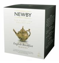 Чай Newby English Breakfast (Инглиш брекфаст) черный, в пирамидках, 15 пакетиков