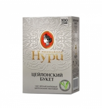 Чай Принцесса Нури Цейлонский букет черный, листовой, 100 г