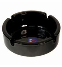 Пепельница Luminarc Black черная d 10.7см