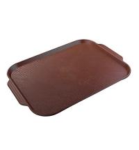 Поднос для фаст-фуда Horeca коричневый 45х35.5см