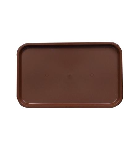 фото: Поднос прямоугольный Horeca коричневый 53смх33см