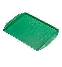 Поднос для фаст-фуда зеленый 42х32см