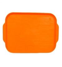 Поднос для фаст-фуда Horeca оранжевый 45х35.5см