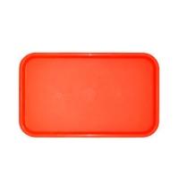 Поднос прямоугольный красный 53х33см