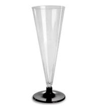 Бокал одноразовый для шампанского Мистерия Кристалл прозрачный 180мл, 6шт/уп