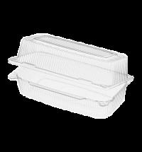Контейнер одноразовый с крышкой Комус-Упаковка РК-35 1.75л 23х12.9х9.8см