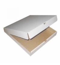 Коробка под пиццу 33.5х33.5х4см гофрокартон