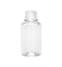 Бутылка пустая с узким горлом 100мл ПЭТ, с крышкой