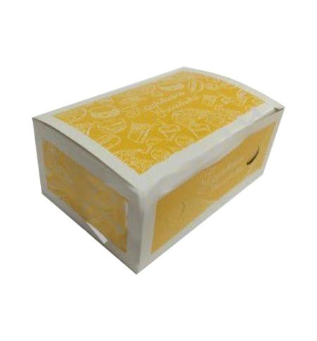 фото: Коробка под наггетсы Артпласт Миди 13.5х8.5х6см для 9шт, 500шт/уп