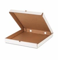 Коробка под пиццу Фабрика Упаковки КТК 25.5х25.5х4см гофрокартон, без печати