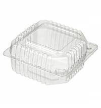 Контейнер одноразовый для десертов Комус-Упаковка РК-10(Т) 12х12х6.3см 600шт/уп