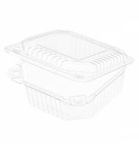 Контейнер одноразовый для десертов Комус-Упаковка РК-11/1 с крышкой 13.2х13.2х5.8см, 550шт/уп