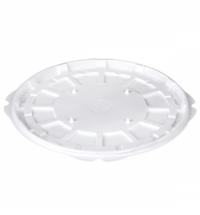Контейнер одноразовый Комус-Упаковка Т-265Д дно d 26см, белое