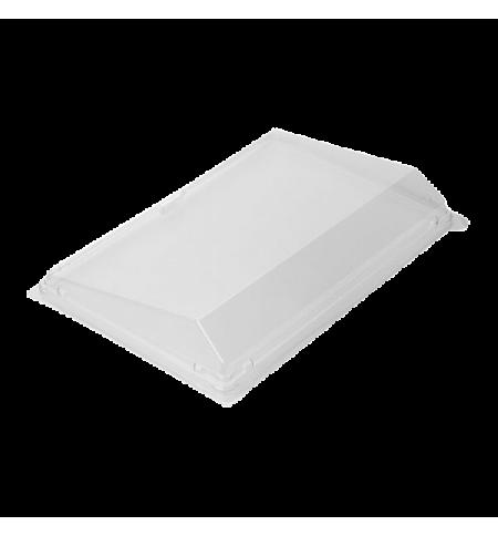 фото: Крышка к контейнеру для суши Стиролпласт Сп-24К 23.5х16.2х3.2см