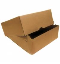 Коробка под выпечку Фабрика Упаковки Fupeco Крафт от 1 до 3 кг 32.5х32.5х12см