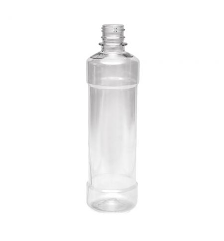 фото: Бутылка пустая с узким горлом 500мл ПЭТ, прозрачная, без крышки, 100шт/уп