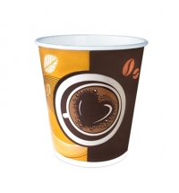Стакан одноразовый Huhtamaki Кофе с собой 200мл бумажный, 50шт/уп