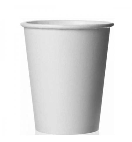 фото: Стакан одноразовый Формация без рисунка 250мл бумажный, 75шт/уп