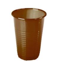 Стакан одноразовый Huhtamaki коричневый 180мл, 100шт/уп