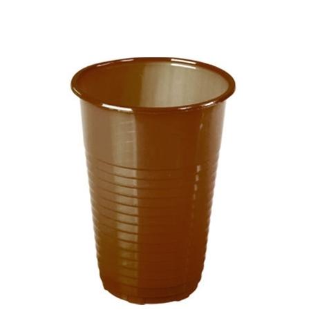 фото: Стакан одноразовый Huhtamaki коричневый 180мл, 100шт/уп
