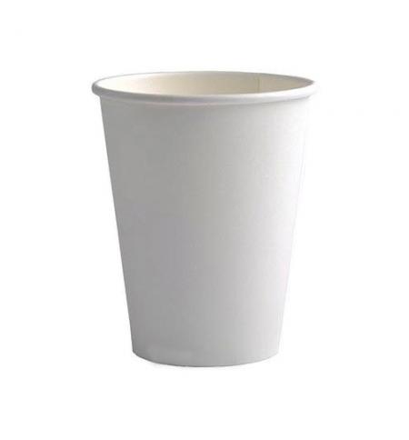 фото: Стакан одноразовый Huhtamaki 175мм бумажный однослойный белый, 100шт/уп