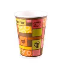 Стакан одноразовый Huhtamaki Чашки 300мл бумажный однослойный, 50шт/уп