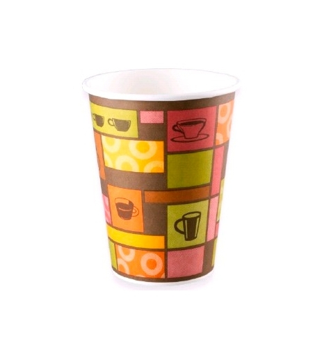 фото: Стакан одноразовый Huhtamaki Чашки 300мл бумажный однослойный, 50шт/уп