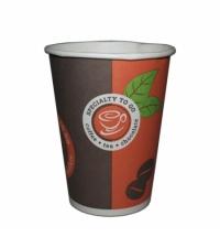 Стакан одноразовый Huhtamaki Coffee-to-go 300мл бумажный, 50шт/уп