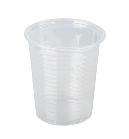 фото: Стакан одноразовый Флайпак 100мл пластиковый прозрачный, 100шт/уп